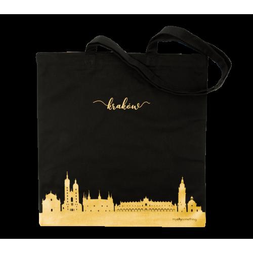 torba czarna skyline krakowa