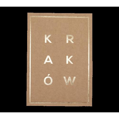 pocztówka eko napis ramka