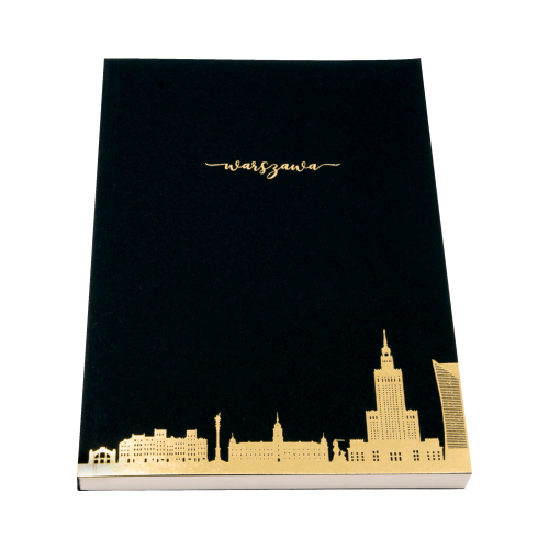 notatnik tektura skyline...